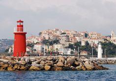Imperia (Porto Maurizio) Molo di Ponente, Italy: Liguria