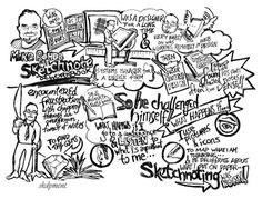 Mauro and I both love this sketchnote by Kismet Dyment . He writes: This is a Sketchnote...
