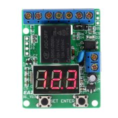 DC 12V Voltage Detection Charging Discharge Monitor Test Relay Switch Control Board Module