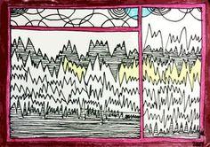 cardSCAPES Handmade Design, Art World, Illustration Art, Fine Art, The Originals, Drawings, Sketches, Drawing, Portrait