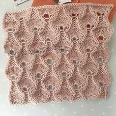 Lace Knitting Patterns, Knitting Stitches, Baby Knitting, Stitch Patterns, Embroidery Kits, Diy And Crafts, Knit Crochet, Blanket, Knit Jacket