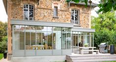 Arehal - véranda et verrière à l'ancienne sur mesure en région parisienne - Alain Mottais