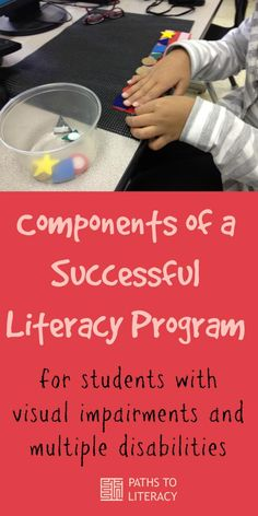 Components of a successful literacy program for students with visual impairments and multiple disabilities