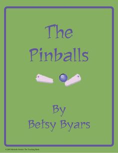 This is a custom written literature unit to be used with The Pinballs by Betsy Byars.  This unit is designed to be used with some student/instructor interaction. It can also be revised as an independent study for the student. It is written for the 4-6th grade reading level.