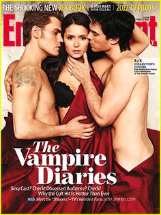 It's about time TVD got an EW cover!