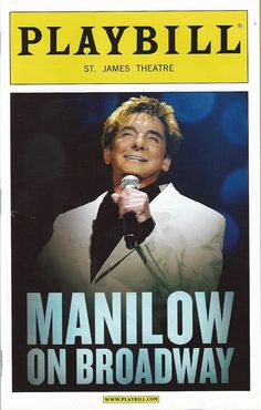 Barry Manilow! Had a front row seat and could look right into those gorgeous blue eyes!