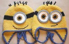 Die 14 Besten Bilder Von Minion Mütze Crochet Patterns Hat