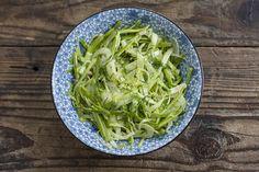 Ribboned Asparagus and Fennel Salad | Autoimmune Paleo