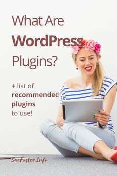 Find out what WordPress plugins are and the best ones to use. #wordpress #plugins Create Wordpress Website, Wordpress Help, Wordpress Website Design, Wordpress Template, Wordpress Plugins, Ecommerce, Progressive Web Apps, Website Header, Thing 1