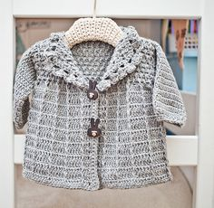 Baby (Toddler) Jacket pattern by Mon Petit Violon