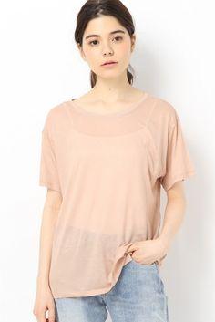 BASERANGE LOOSE Tシャツ  BASERANGE LOOSE Tシャツ 7560 2016SS BASERANGE(ベースレンジ) オーガニックコットンを中心に天然素材を使用した快適で高品質なアンダーウェアやイージーウエアを展開するブランドです こちらの商品はIENAでの取り扱いになります 直接店舗へお問い合わせの際はIENA店舗へお願い致します モデルサイズ:身長:170cm バスト:75cm ウェスト:60cm ヒップ:83cm 着用サイズ:フリー
