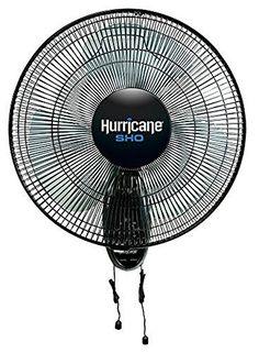 Hurricane 736512 SHO Oscillating Wall Mount Fan