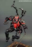 Agent Venom Fully Loaded (Thunderbolts Style) custom action figure from the Marvel Legends series using MLs as the base, created by ACCustomFigures. Marvel Comics, Marvel Heroes, Marvel Characters, Star Wars Poster, Star Wars Art, Star Trek, Symbiotes Marvel, Demon Drawings, Spider Man