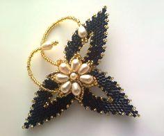 Victoriya Katamashvili. Russian Leaves in beaded jewelry// no directions