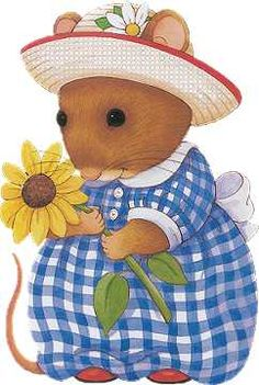 Gingham Mouse