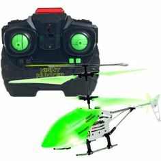 Night Hunter Glow In The Dark RC Helicopter by tm global. $36.99. This incredible flying machine can travel in nearly any direction to navigate the airspace in your home. Bright and colorful LED Lights coupled with a glow in the dark body and blades make this chopper easy to follow even in low light situations. Let your imagination soar with the Night Hunter Xtreme Glow In The Dark RC Indoor Helicopter!. Night Hunter Glow In The Dark RC Helicopter. Includes retail packagi...