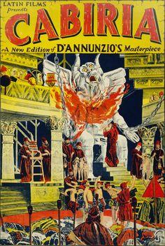 MI ENCICLOPEDIA DE CINE: Posters de Cabiria 1914