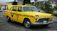 The Checker Cabs in New York City are arguably the most famous taxis in the world. Although Checker Motors Corporation stopped producing them in the 1980s, the robust and boxy yellow cabs are still legendary. In 1999, the last official Checker Cab in use was auctioned off for $134,500. Today, only a few can still be seen on the streets, but the gas-guzzlers are no longer practical as taxis.