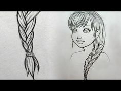 How To Draw Braids Gallery How To Draw Braids. Here is How To Draw Braids Gallery for you. How To Draw Braids how to draw braids sketch best of beautiful girl with. How To Draw Amazing Drawings, Realistic Drawings, Art Drawings Sketches, Easy Drawings, How To Draw Braids, How To Draw Hair, Cartoon Girl Drawing, Cartoon Drawings, Baylee Jae