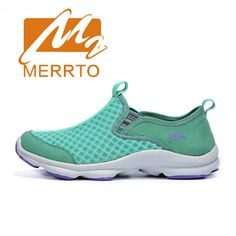 Cheap walking shoes, Buy Quality women sport walking shoes directly from China slip on Suppliers: 2018 Merrto Womens Walking Shoes Lightweight Outdoor Slip On Shoes Breathable Mesh Sports Shoes For Women Free Shipping MT18533