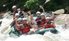 Groupon - $ 29.95 for a Half Day of River Rafting for One from Adventures Unlimited ($59.95 Value) in 2. Groupon deal price: $29.95