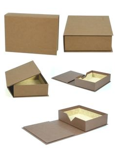 High-End Custom Book Presentation Cases Cardboard Box Crafts, Cool Paper Crafts, Jewelry Packaging, Box Packaging, Homemade Gifts For Boyfriend, Book Presentation, Gift Box Design, Custom Book, Diy Gift Box
