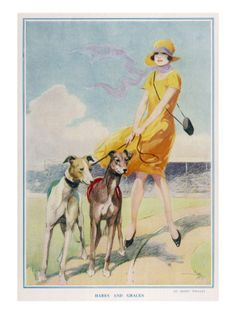 Hares and Graces by Harry Woolley Giclee Print - at AllPosters.com.au