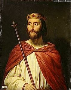 Charles III le Simple (17/09/879 - 07/10/929 Compiègne) - 3° fils de Louis II - Dynastie des Carolingiens