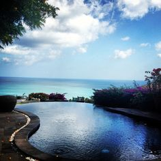 The Swimming Pool Overlooking Impossibles Surf Break at Temple Lodge, Bali