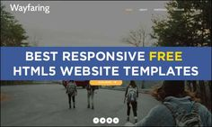 75 Best Responsive #Free #HTML5 Website Templates