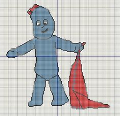 Knitting Pattern For Iggle Piggle Toy : 1000+ images about Cross stitch on Pinterest Cross stitch collection, Cross...