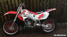 1999 Honda CR 125 motocross field bike 2 stroke.  #honda #cr #forsale #unitedkingdom