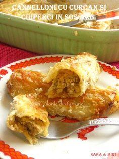 » Mancare de ciuperci in sos de rosiiCulorile din Farfurie Brunei, Quinoa, French Toast, Breakfast, Recipes, Food, Unt, Kitchen Stuff, Food Food