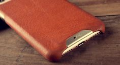 Grip Leather Case for iPhone 7 Plus by Vaja