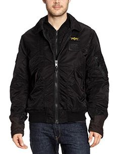 """BLK.JACKET       Famous Words of Inspiration...""""An unexamined life is not worth living.""""   Socrates — Click here for more from Socrates               More details at https://jackets-lovers.bestselleroutlets.com/mens-jackets-coats/lightweight-jackets/varsity-jackets/product-review-for-mens-schott-black-210-vintage-bomber-jacket-l/"""