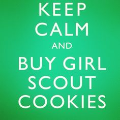 Girl Scout cookies !!