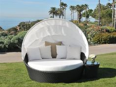 Caluco Maxime Wicker Cushioned Cabana Bed by Caluco. $2916.31. Shop for wicker lounge sets at PatioFurnitureBuy.com today and save! When looking for top quality Caluco furniture products for your outdoor furniture needs, this Caluco maxime wicker cushioned cabana bed (MXMLS5) will provide years of enjoyment for your furniture decor.