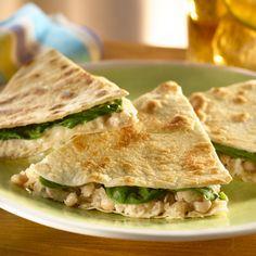 Warm White Bean & Tuna Quesadillas   Health.com