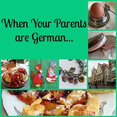 When your parents are German, you aren't like all the other kids in the neighborhood. I'm sure a lot of you will recognize these traits, it's a big club. German Christmas Traditions, German Christmas Markets, Holiday Traditions, German Resources, German Desserts, German Girls, Molecular Gastronomy, International Recipes, Dessert Recipes