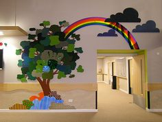 Tactile Murals Sensory Wall, Sensory Boards, Kids Education, Early Education, Kindergarten Interior, Daycare Rooms, School Murals, Infant Art, Infant Room