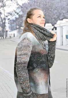Пиджаки, жакеты ручной работы. Валяная куртка и юбка Март. FeltOx ( Оксана Ткаченко). Ярмарка Мастеров. Одежда из войлока