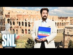 Romano Tours - Romano (Adam Sandler) explains what his tours can or cannot do for you - SNL - YouTube