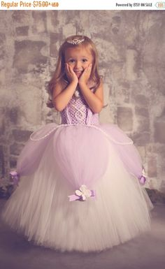 25% off storewide sale Sofia the First Tutu by lauriestutuboutique