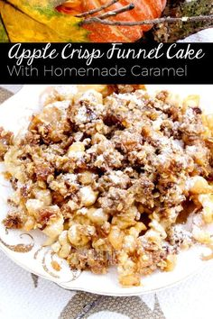 Apple Crisp Funnel C