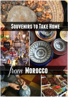Visiting Morocco? Wondering what souvenirs to take home? Here are some suggestions and where to get them. | by MorocMama
