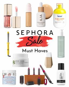 What I got and what you NEED from Sephora's Spring Sale!! Makeup Is Life, Beauty Recipe, Spring Sale, Diy Beauty, Sephora, Let It Be, Homemade Beauty Products, Diy Makeup