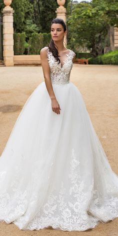 Milla Nova Wedding Dresses 2017 ❤ See more: http://www.weddingforward.com/milla-nova-wedding-dresses-2017/ #weddings