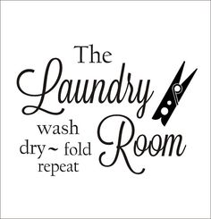 Laundry Room Vinyl Wall Quotes Prepossessing Laundryvinyl Wall Decal It All Comes Out In The Washlaundry Design Ideas