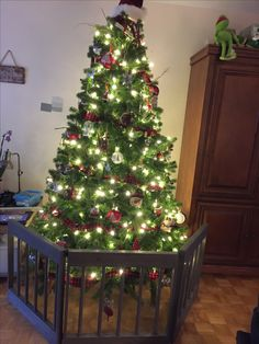 How To Childproof Your Christmas Tree Build A Little