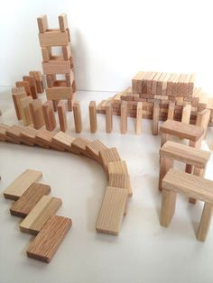 Best Price For Solid Wood Toy Domino Blocks - Made From Reclaimed Lumber - Set…